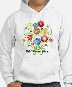 Personalized floral light Hoodie