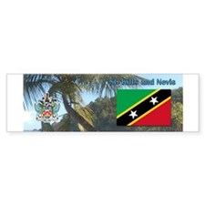 Saint Kitts and Nevis.jpg Bumper Sticker