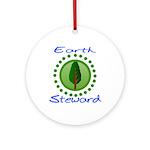 Earth Steward 2 Ornament (Round)