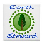 Earth Steward 2 Tile Coaster