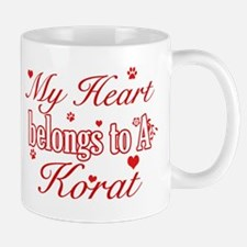 Cool Korat Cat breed designs Mug