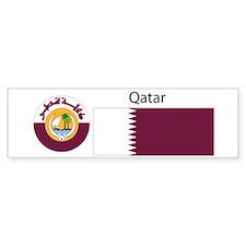 Qatar.jpg Bumper Sticker