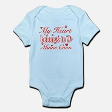 Cool Maine Coon Cat breed designs Infant Bodysuit
