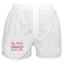 Cool Maine Coon Cat breed designs Boxer Shorts