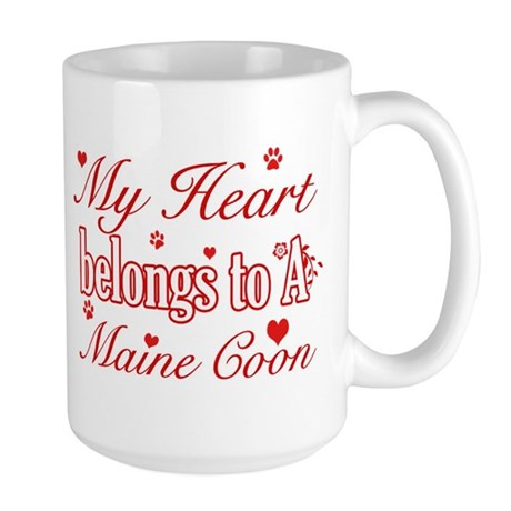 Cool Maine Coon Cat Breed Designs Mug By Heartfeltteez