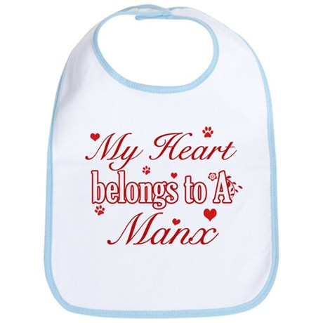 Cool Manx Cat Breed designs Bib