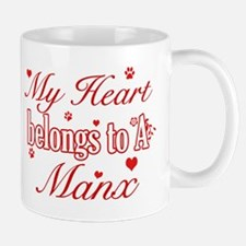 Cool Manx Cat Breed designs Mug