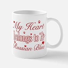 Cool Russian Blue Cat Breed designs Mug