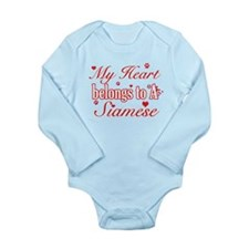 Cool Siamese Cat Breed designs Long Sleeve Infant