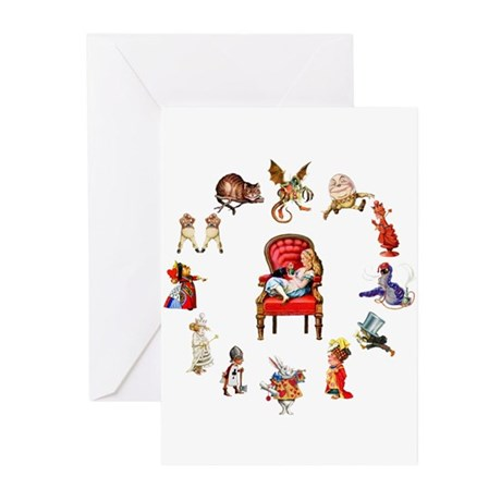 Alice in Wonderland Greeting Cards (Pk of 20)