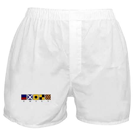 Nautical Emily Boxer Shorts