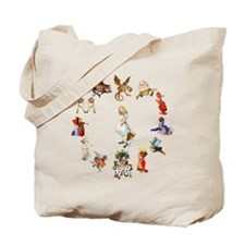 Alice Through The Looking Glass Tote Bag