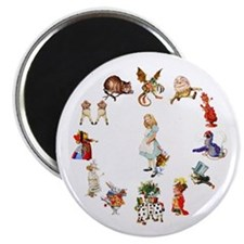 Alice Through The Looking Glass Magnet
