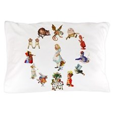 Alice Through The Looking Glass Pillow Case
