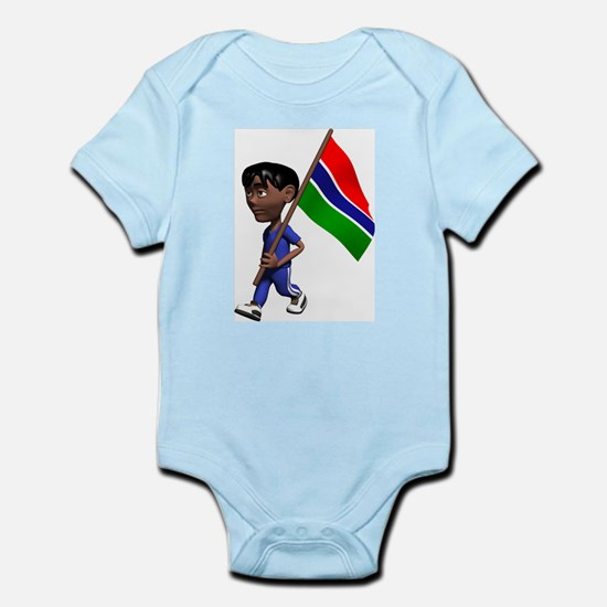 3D Gambia Infant Creeper