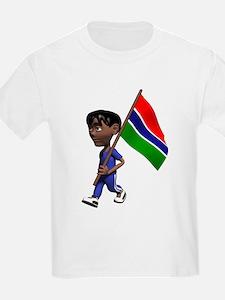 3D Gambia Kids T-Shirt