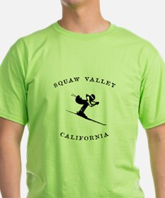 Squaw Valley California Ski T-Shirt