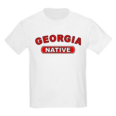 Georgia Native Kids T-Shirt