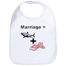 Marriage = Mega Shark + Giant Octopus Bib