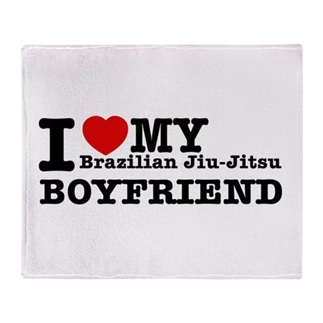 Brazilian Jiu-Jitsu designs Throw Blanket
