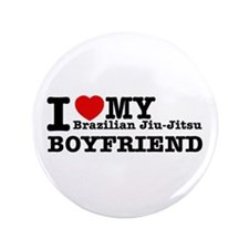 "Brazilian Jiu-Jitsu designs 3.5"" Button"
