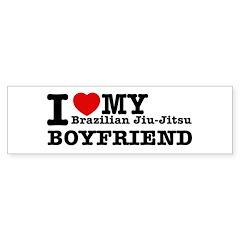 Brazilian Jiu-Jitsu designs Sticker (Bumper)