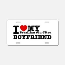 Brazilian Jiu-Jitsu designs Aluminum License Plate
