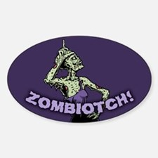Zombiotch! Decal