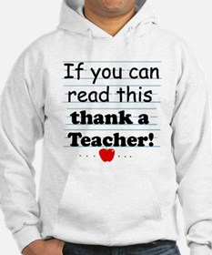 Thank a teacher Jumper Hoody