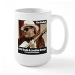 Vic Sadot 9/11 Truth & Justice Songs Large Mug