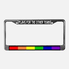 """The Other Team"" License Plate Frame"