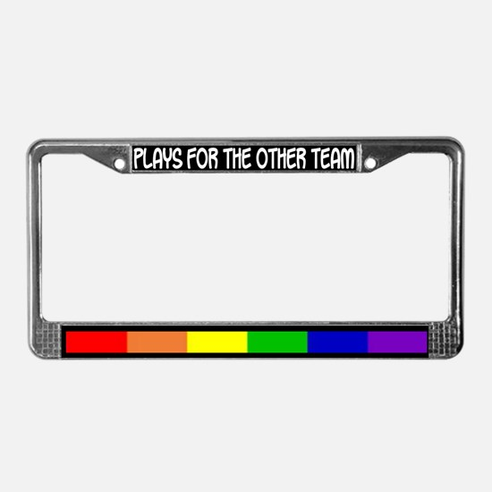 """""""The Other Team"""" License Plate Frame"""