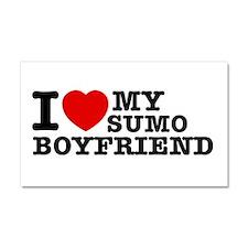 Sumo designs Car Magnet 20 x 12