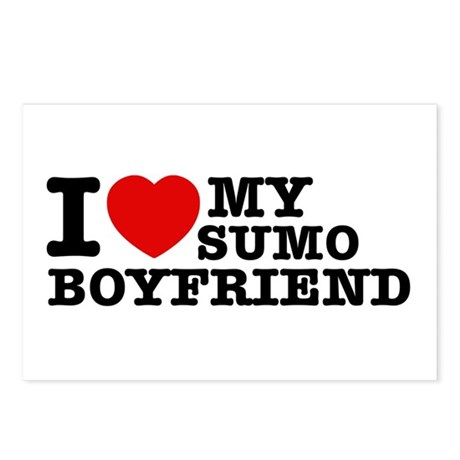 Sumo designs Postcards (Package of 8)