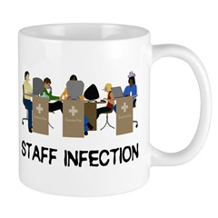 Staff Infection Mug
