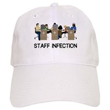 Staff Infection Baseball Cap