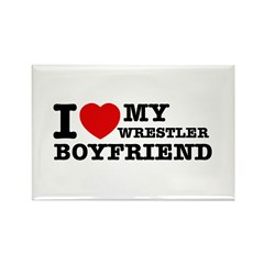 Wrestler designs Rectangle Magnet (10 pack)