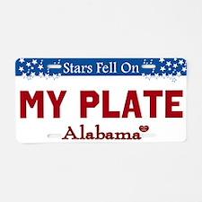 Alabama Stars Custom License Plate