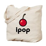 ipop cherry Tote Bag