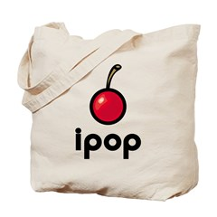 ipop cherry Tote Bag