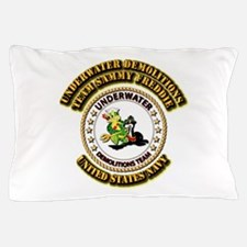 US Navy - Emblem - UDT - Sammy - Freddie Pillow Ca