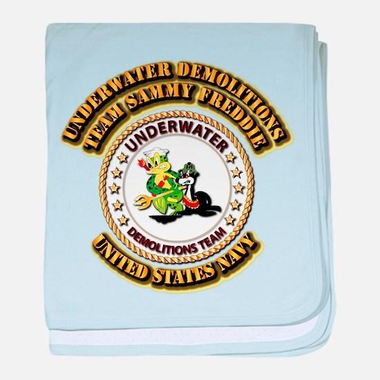 US Navy - Emblem - UDT - Sammy - Freddie baby blan