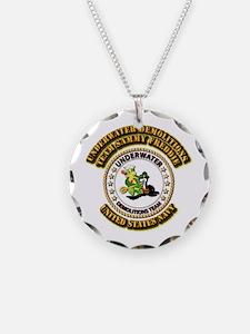 US Navy - Emblem - UDT - Sammy - Freddie Necklace