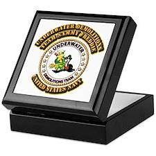 US Navy - Emblem - UDT - Sammy - Freddie Keepsake