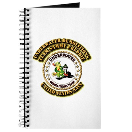 US Navy - Emblem - UDT - Sammy - Freddie Journal