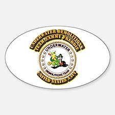 US Navy - Emblem - UDT - Sammy - Freddie Decal
