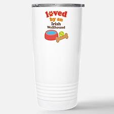 Irish Wolfhound Dog Gift Travel Mug
