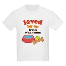 Irish Wolfhound Dog Gift T-Shirt