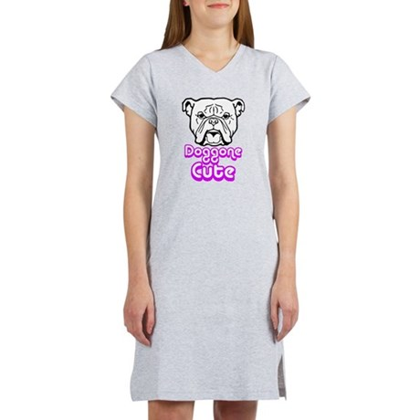 Doggone cute.png Women's Nightshirt