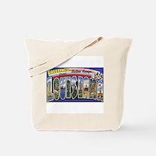 Baton Rouge Louisiana Greetings Tote Bag